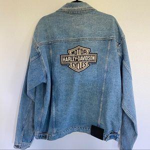 HARLEY DAVIDSON Genuine denim jacket SZ L